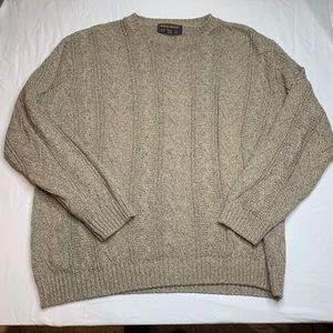 Vintage Woolrich Mens Sweater Cable Knit XL